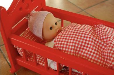 Els bressols de fusta amb llitet, perquè els vostres ninos no passin gens de fred aquest hivern. Entre 42 i 46 €.